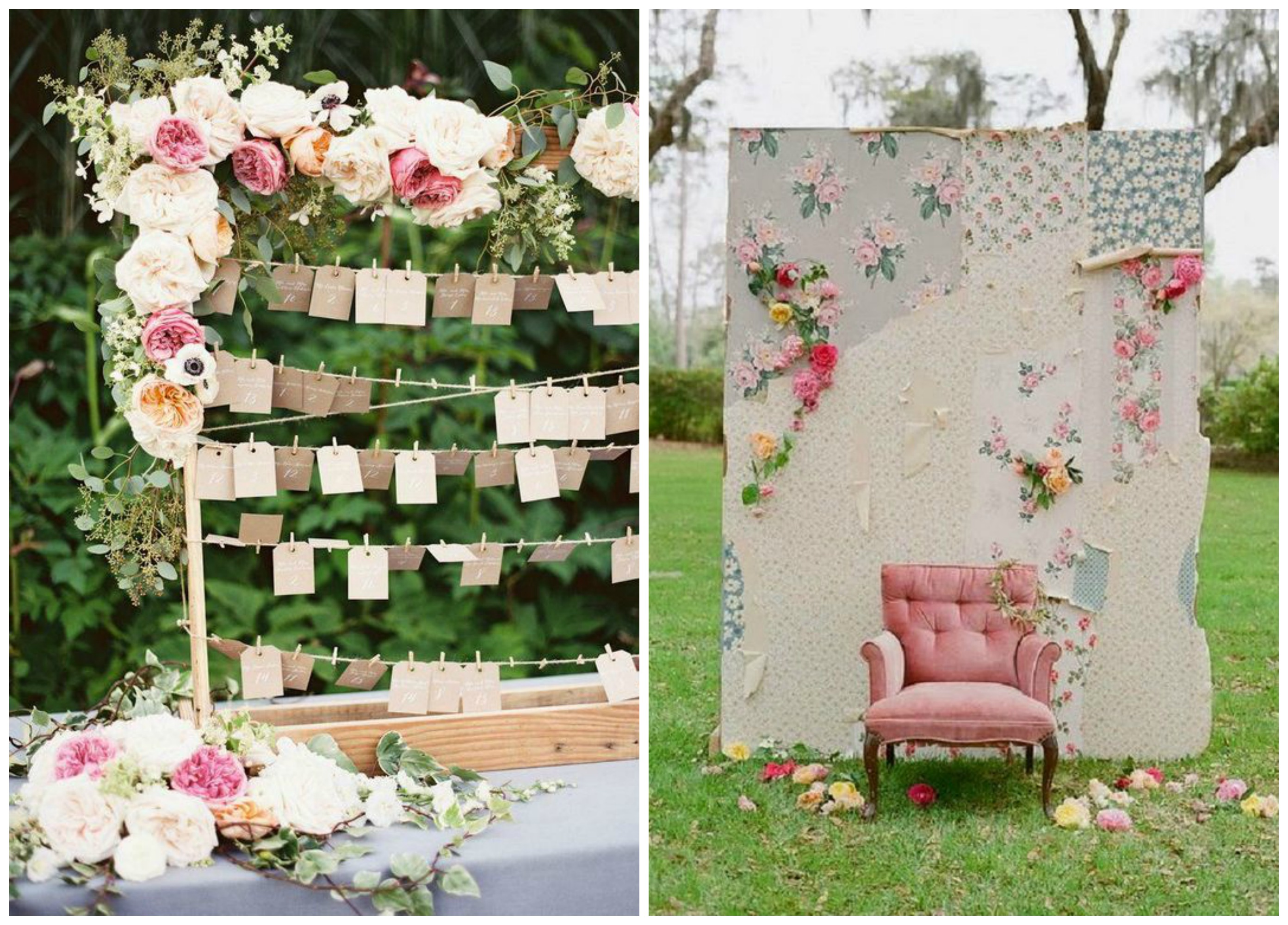 Shabby Chic Wedding Styling Ideas