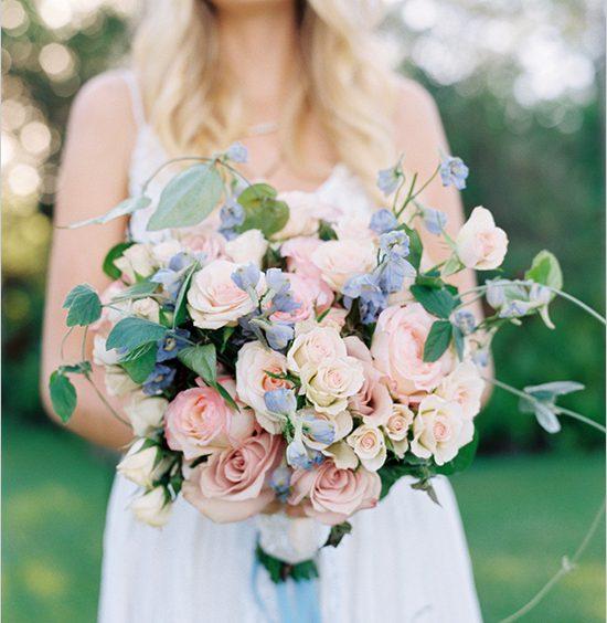 Rose Quartz & Serenity Bouquet