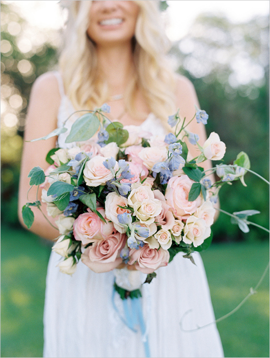 Fall In Love: Rose Quartz & Serenity Flower Inspiration