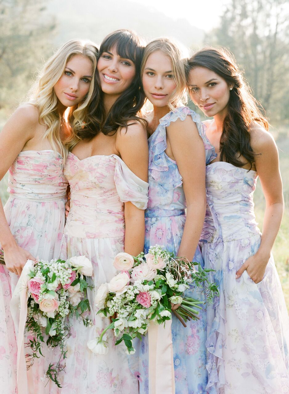Spring/Summer Pastels: PPS Couture Bridesmaid Collection