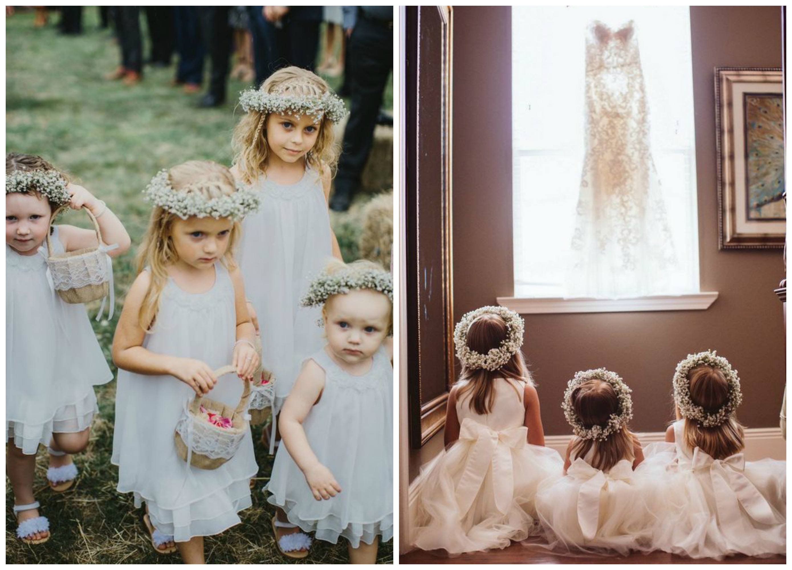 Baby's Breath Floral Crowns