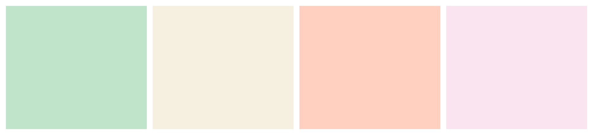 Seafoam Wedding Colour Palette