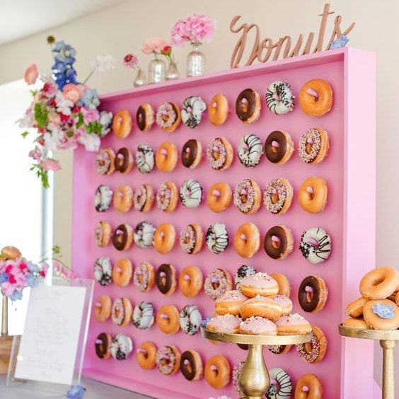 Donut Wall - Marianne Taylor Photography