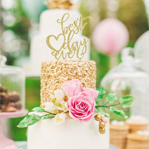 19 Of The Cutest Wedding Cake Topper Ideas EVER!