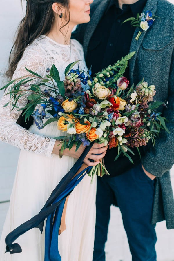 Rustic Autumn Bridal Bouquets