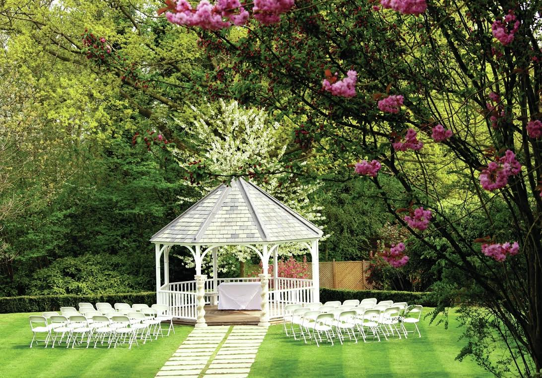 Wedding Gazebo at Rowhill Grange.