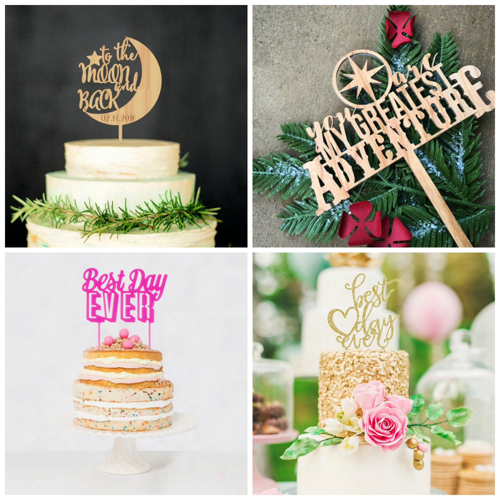 wedding cake topper ideas uk 19 of the cutest wedding cake topper ideas 26339