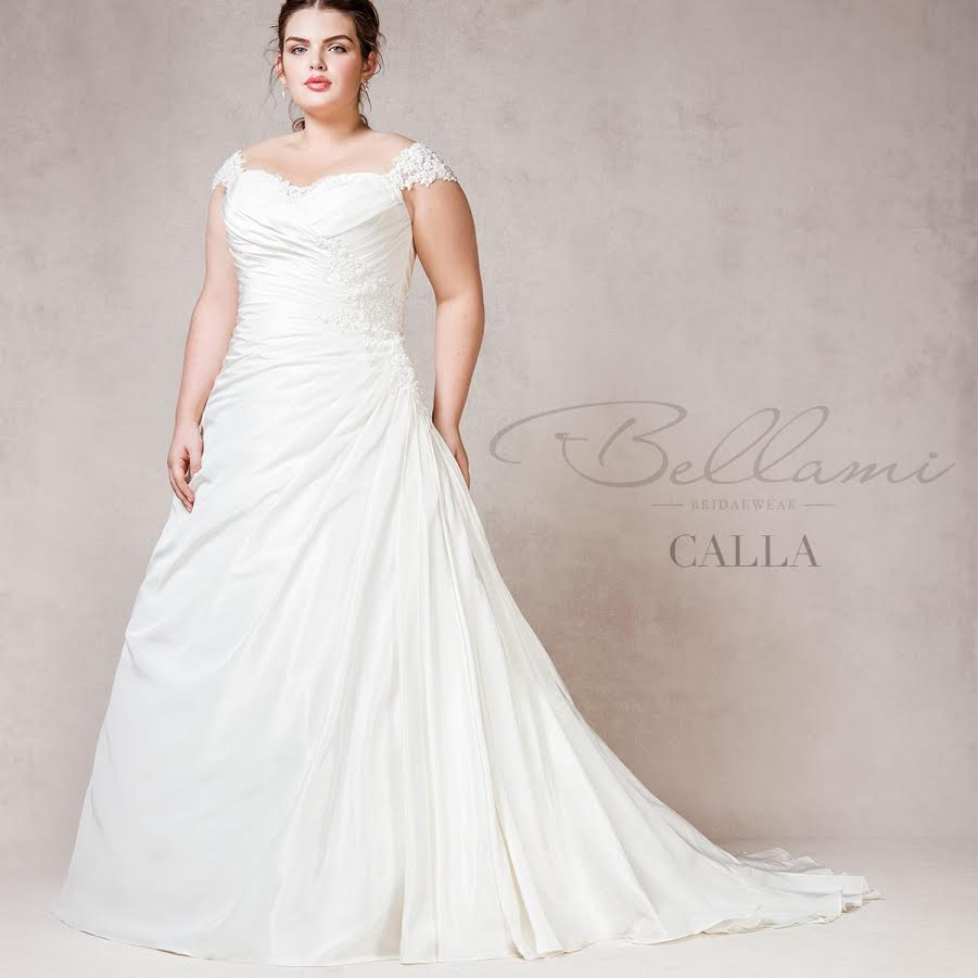 Bellami bridal plus size wedding dresses for beautiful curves for Plus size shapewear for wedding dresses