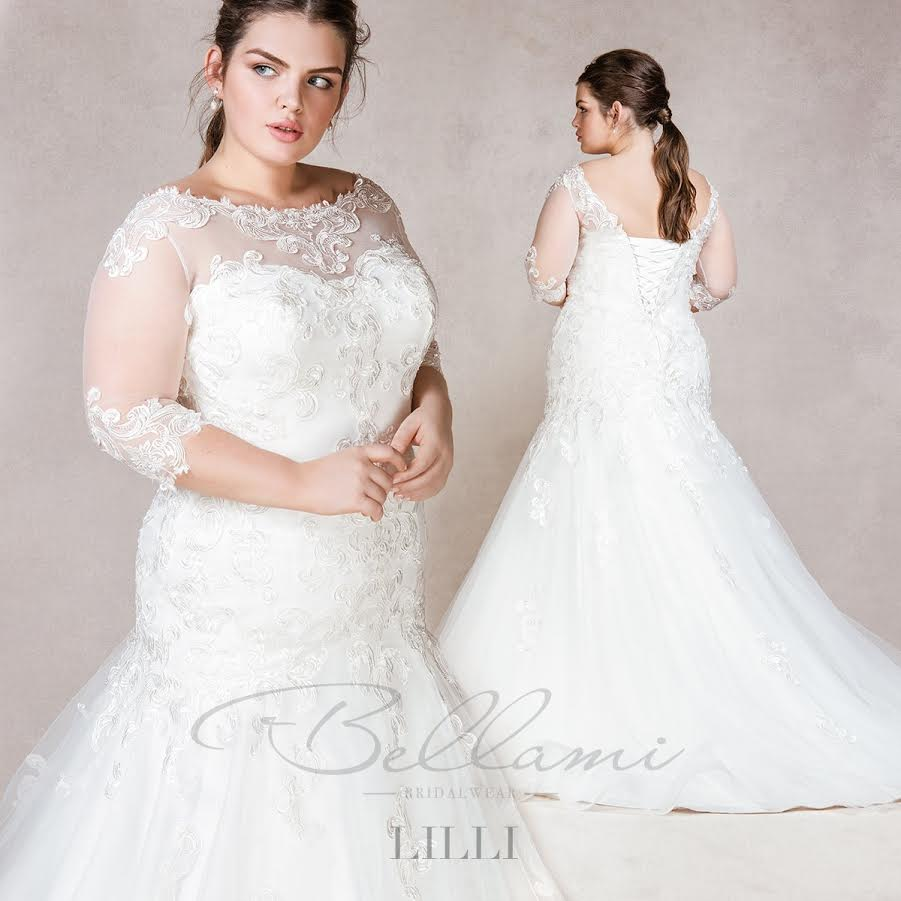 Bellami bridal plus size wedding dresses for beautiful curves for Plus size spanx for wedding dress