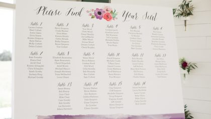 Perfecting Your Seating Plan