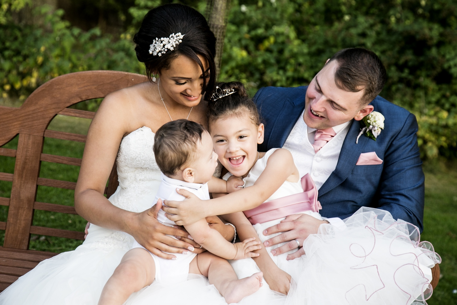 Family First: Amy + Steven's Wedding At Hogarths Solihull