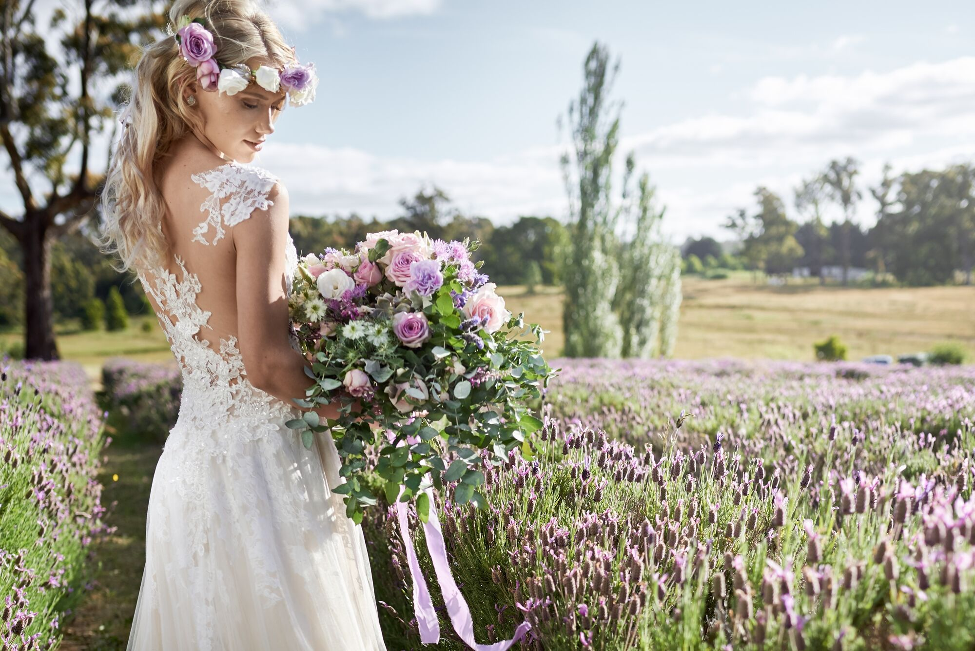 Boho Whimsy: A Lavender Luxe Inspired Photo Shoot
