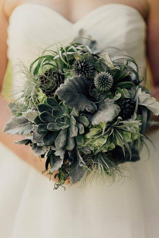 Modern-Cuyahoga-Valley-Wedding-Dark-Wood-Succulents-Addison-Jones-8-600x900-600x900
