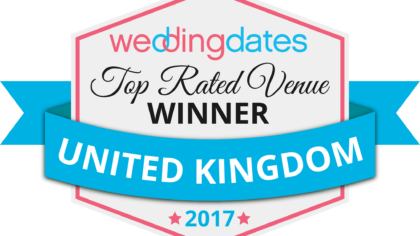 WeddingDates Awards – Top Rated County Award Winners 2017