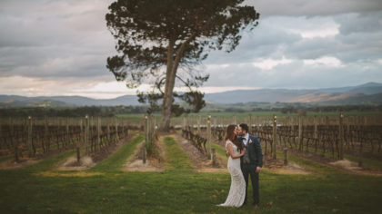 Feeling Fireworks: Adriana + Andrew's  Winter Winery Wedding