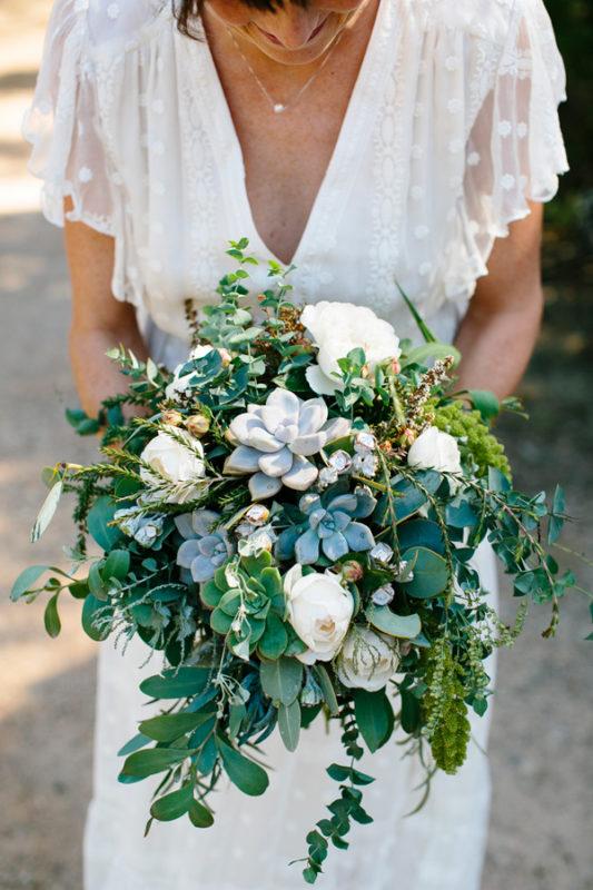 Greenery Bouquet Ideas For A Winter Wedding