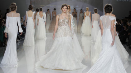 The Latest Styles From New York Bridal Fashion Week