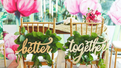 Tropical Vibes: Decor Inspo For A Tropical Escape Wedding