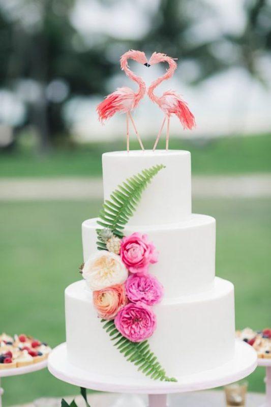 fenicotteri-cake-topper