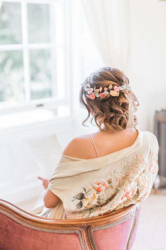 Fine Art Wedding Photography - Regency Bridal Shoot - Doxford Hall Wedding