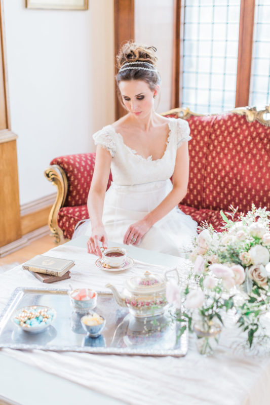 Fine Art Wedding Photography - Regency Bridal Shoot - Doxford Hall Wedding