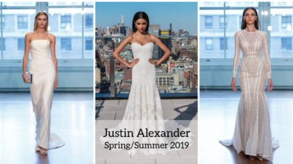First Look At Justin Alexander Signature Spring/Summer 2019 Collection
