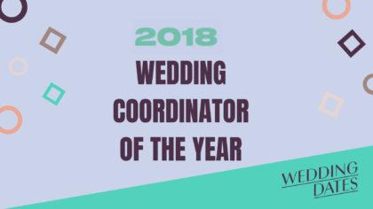Voting Open: Top Wedding Coordinator of the Year 2018