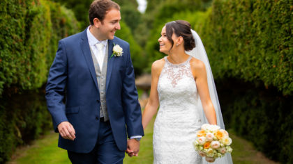 A Modern Day Love Story: Jo + Justin at Chilworth Manor