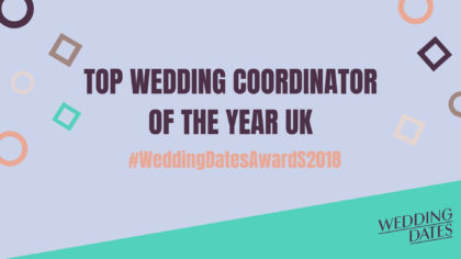 WeddingDates Awards 2018: Top Wedding Coordinator Of The Year
