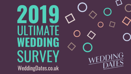 Is Your Wedding on Trend? Find Out With Our 2019 UK Ultimate Wedding Survey Findings