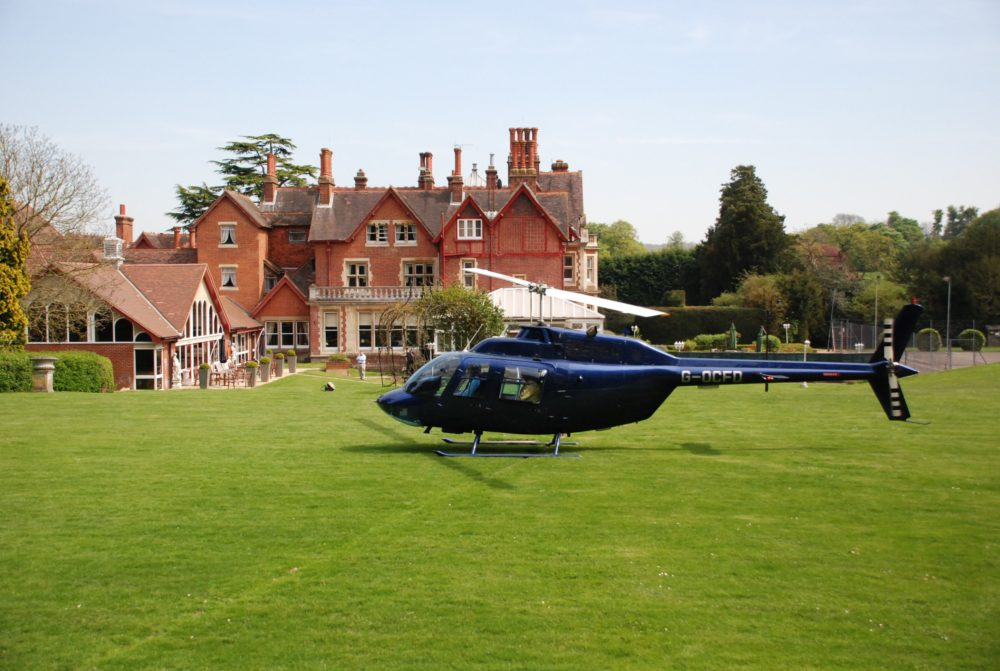 Helicopter Manor Hotel