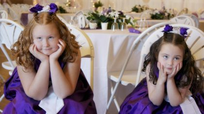 Catering for Children at Your Wedding