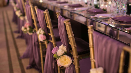 Decorative Additions For Your Wedding Seating