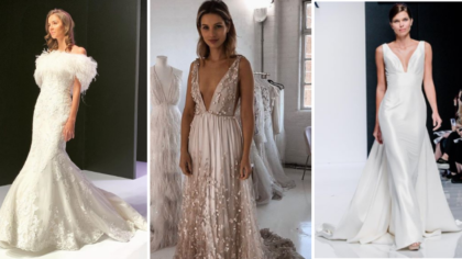 Looks From London Bridal Fashion Week 2019