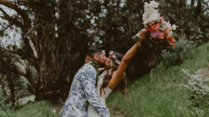 How To Incorporate Flowers Into The Groom's Attire
