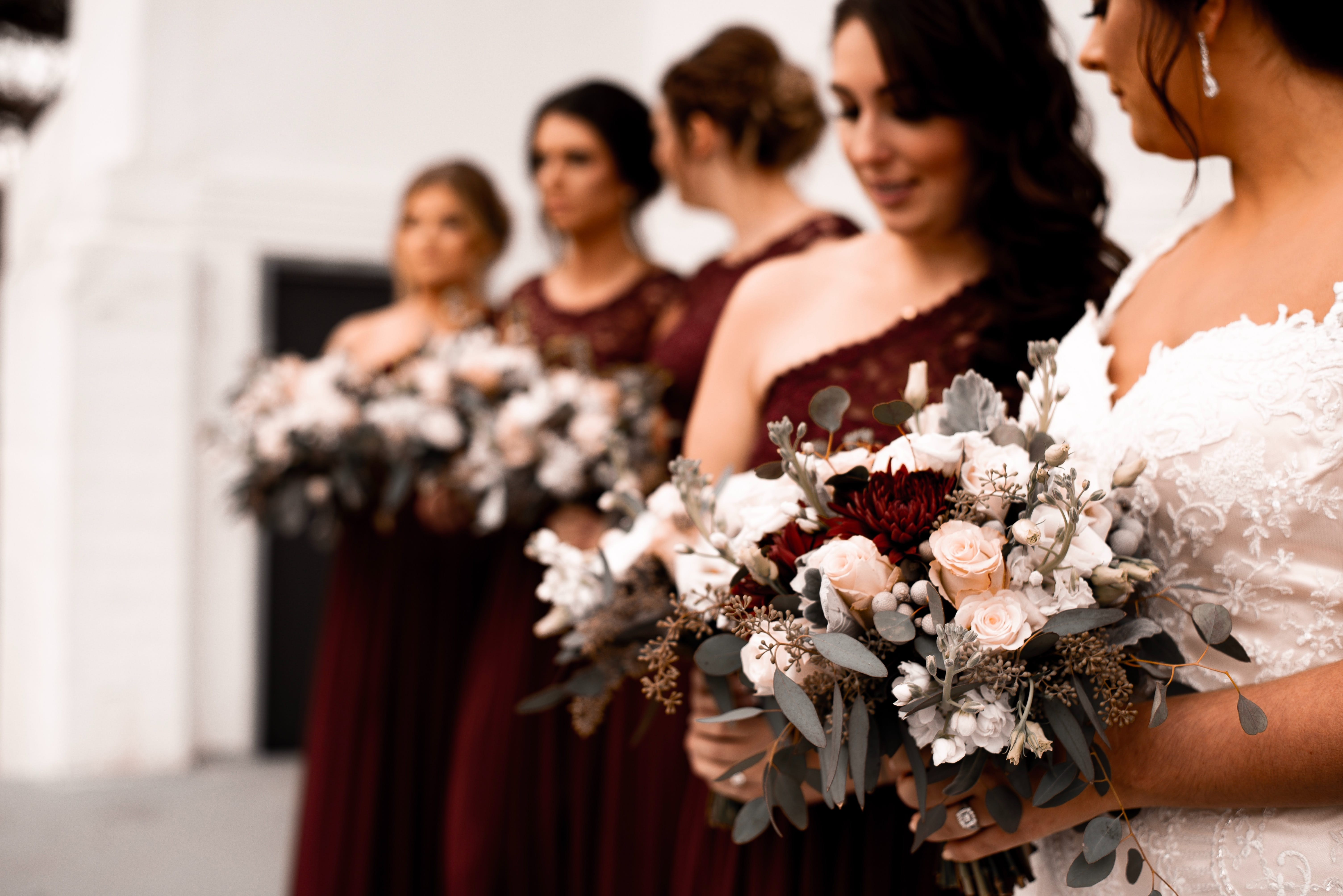 The Ultimate Autumn Bridesmaids Inspiration
