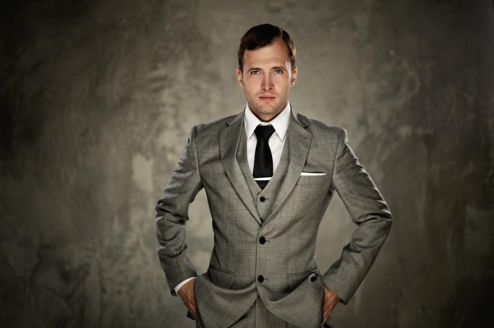3 piece suits - pocket square