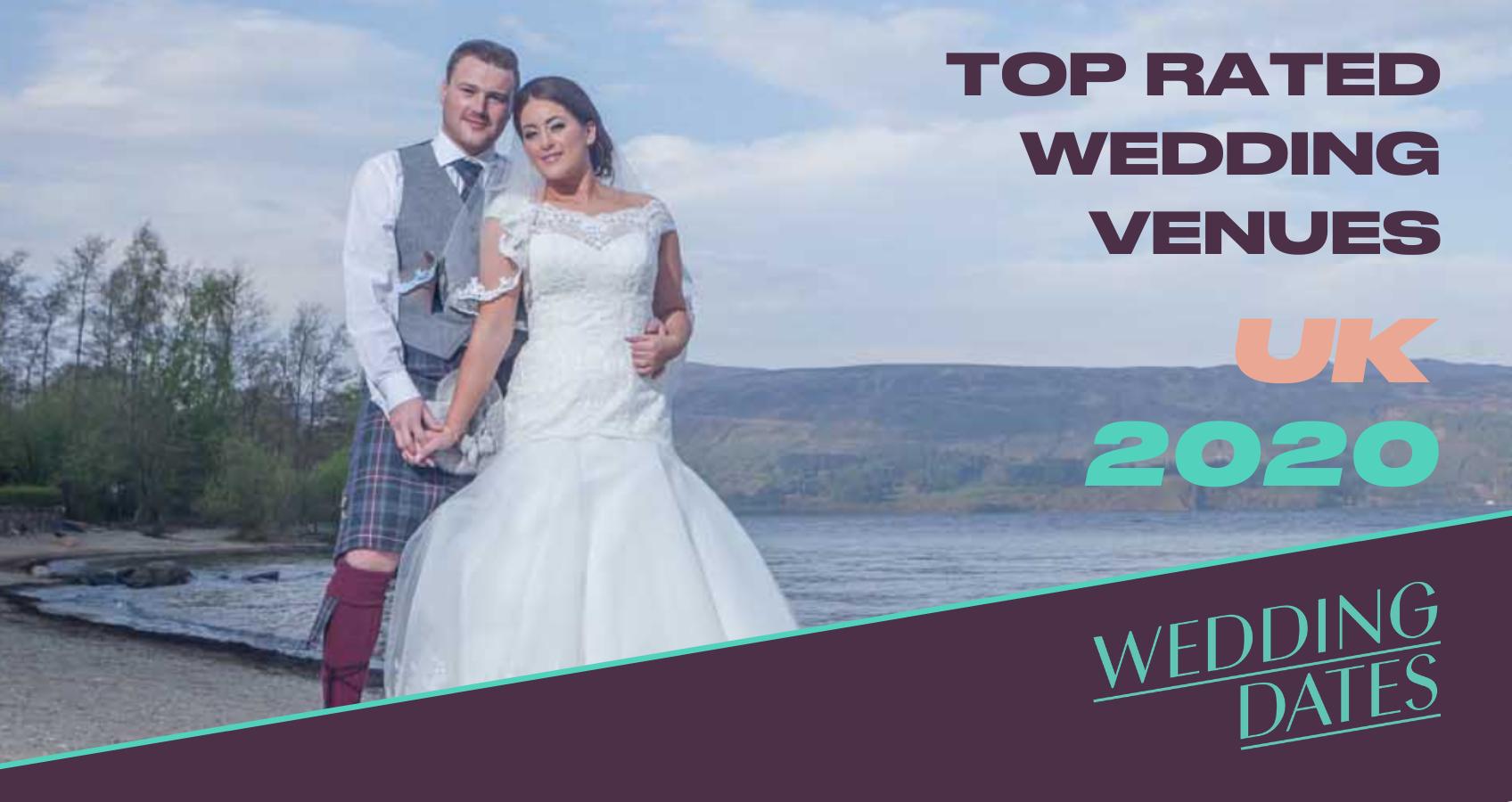 WeddingDates UK Awards Top Rated Wedding Venues