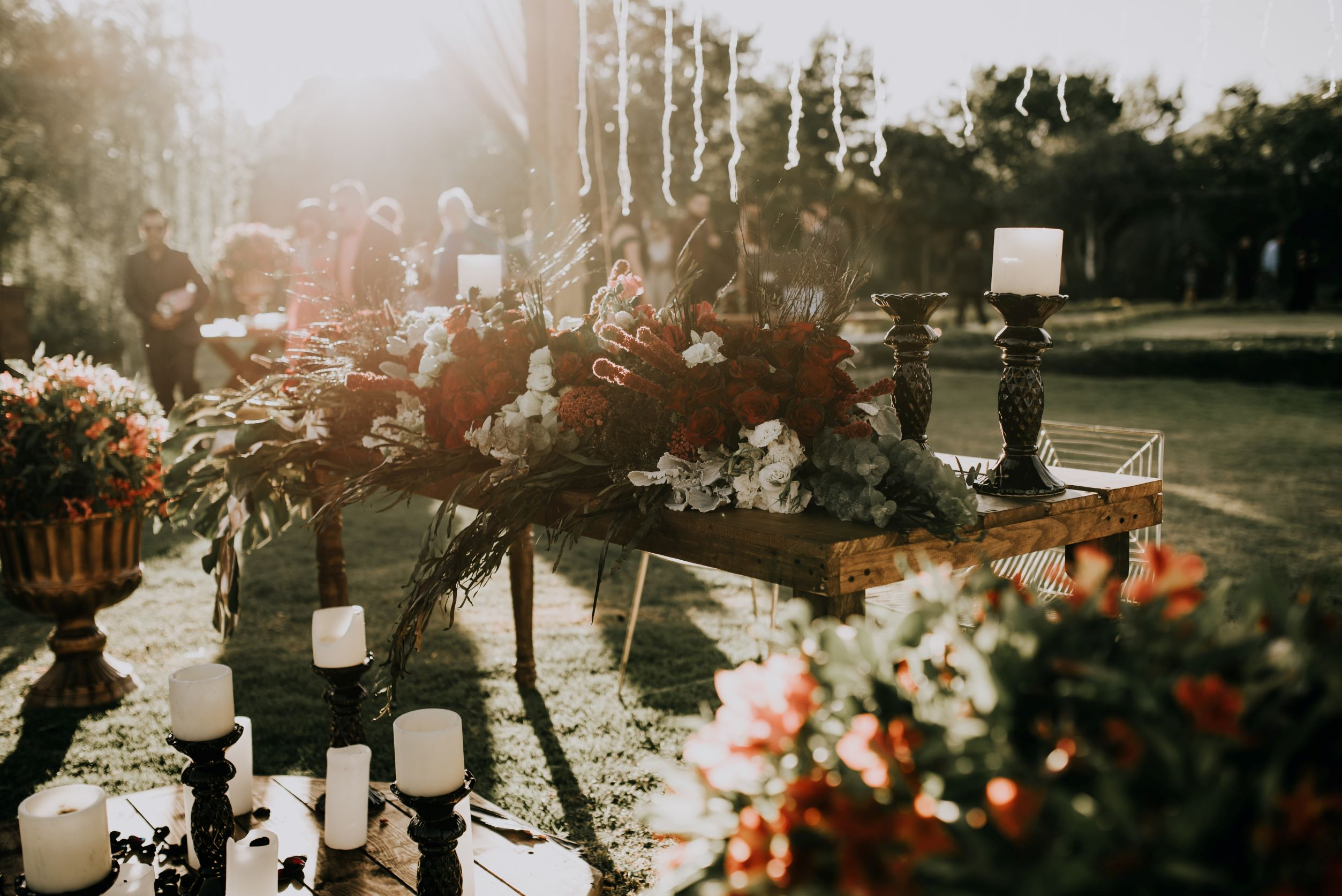 flowers for your barn wedding