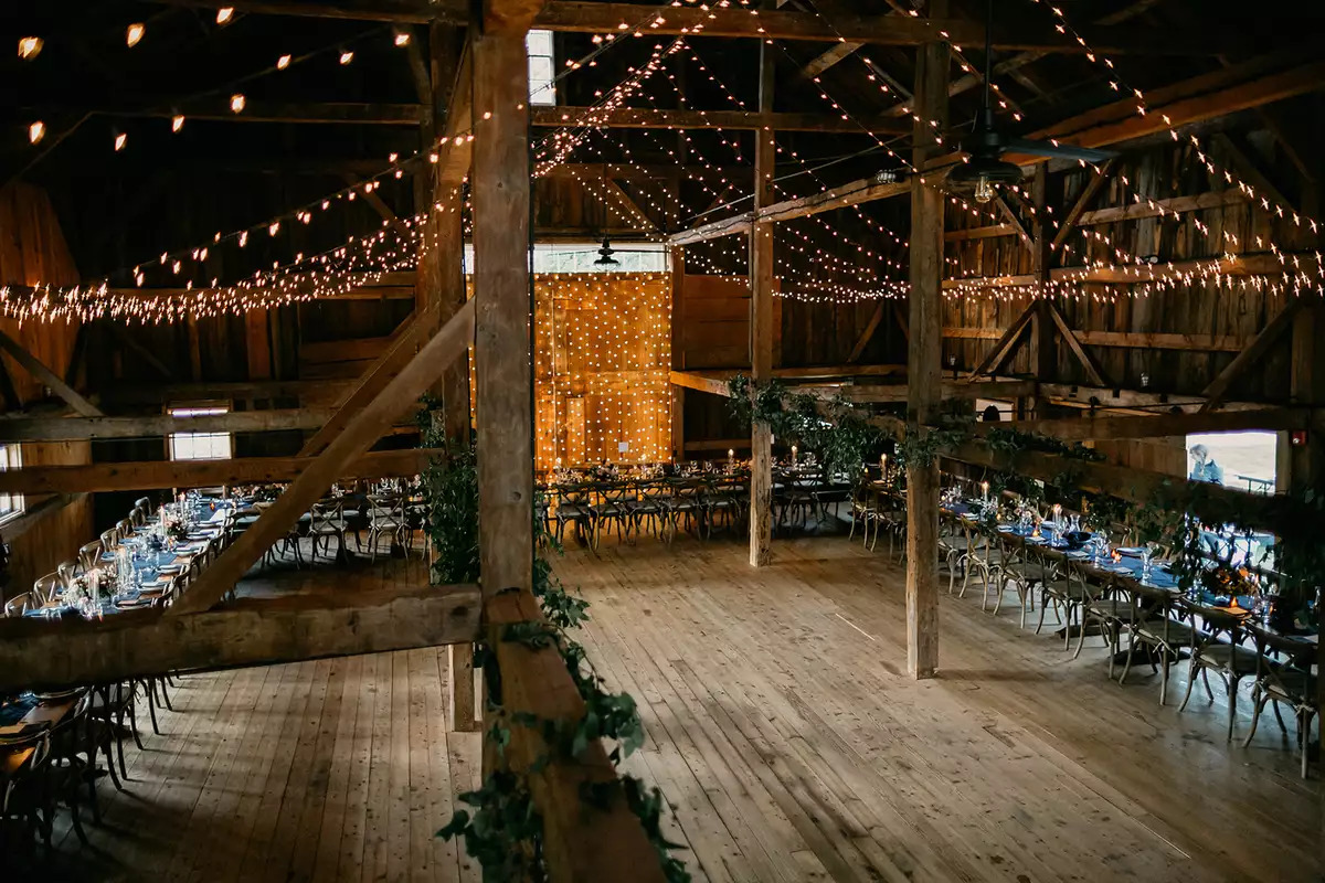 considerations for your barn wedding