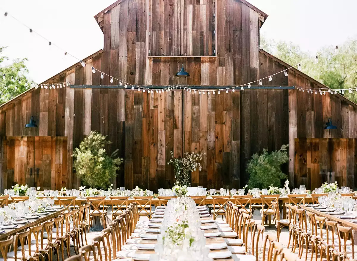 planning for your barn wedding