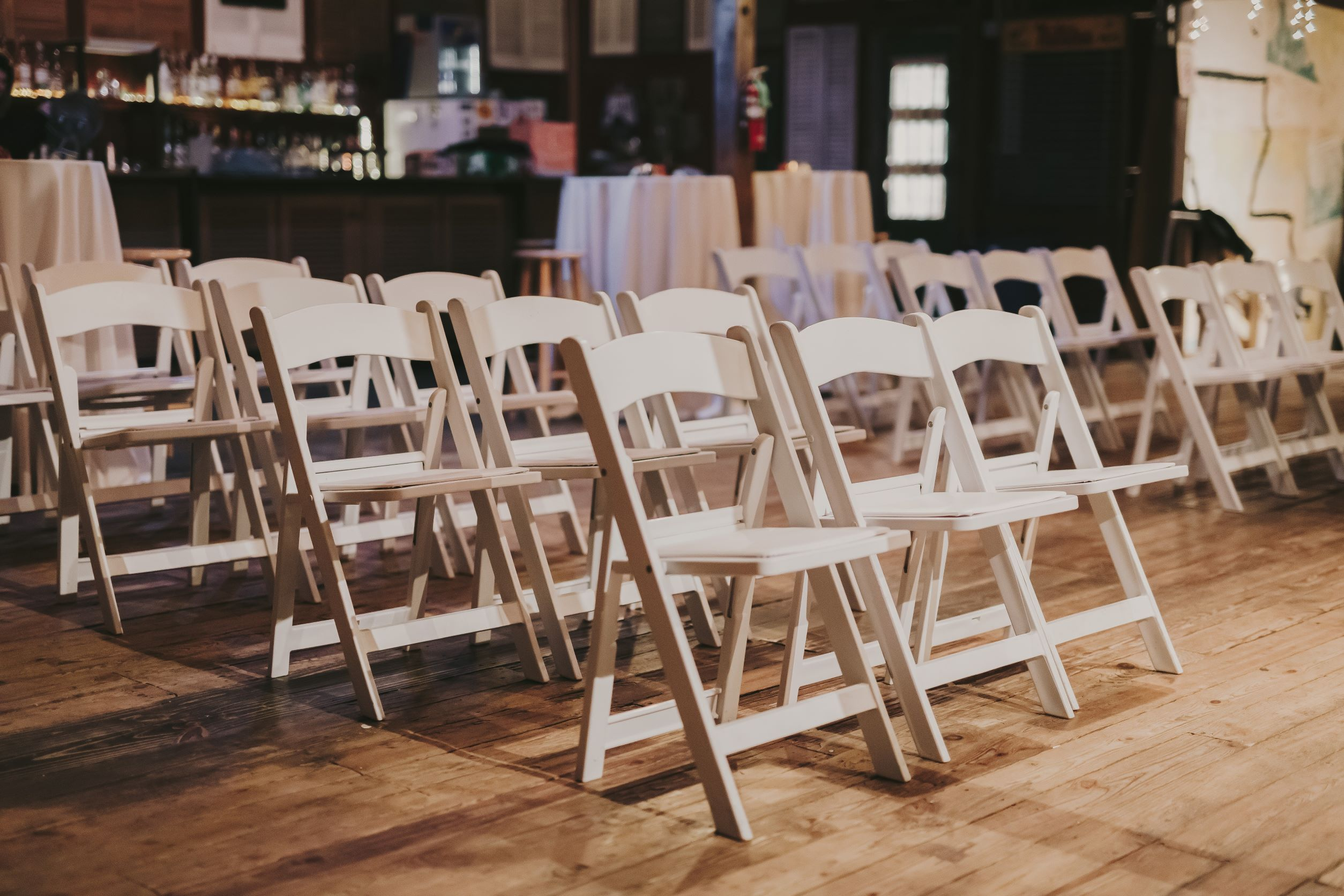 dry hire for your barn wedding