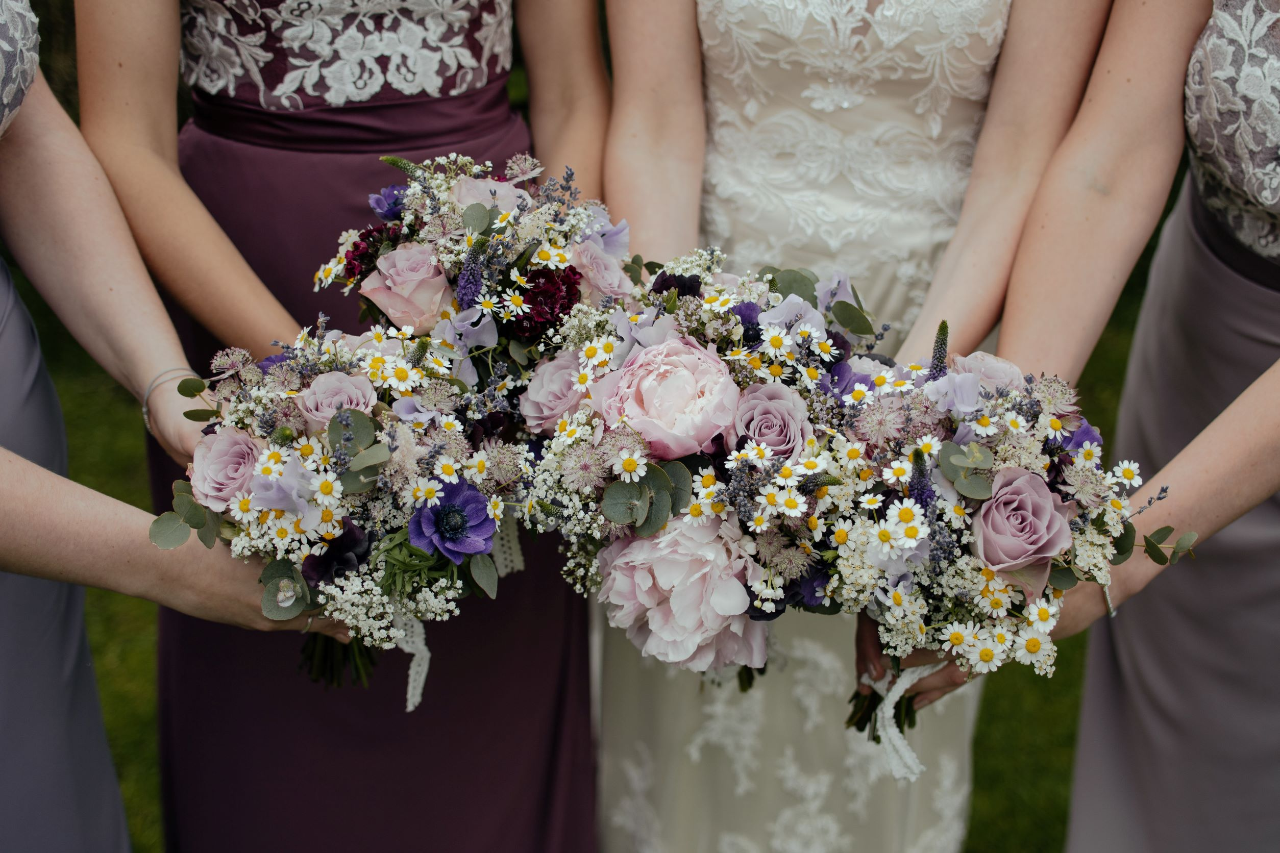 Tying the Knot - bride bouquets